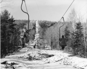 First Chairlift in New England at Belknap Mountain Recreation Area