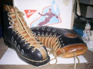 Rieker Leather Lace Ski Boots