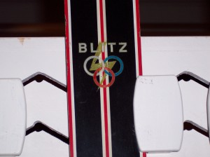 Blitz Skis by A&T (picture taken at Vermont Ski Museum)