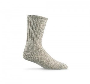 An Old-Style Wool Sock