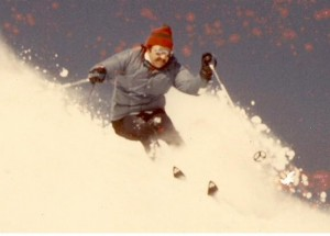 Me on Hexcels Chamonix 1973