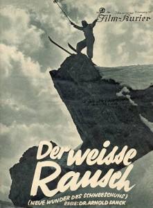 Der Weisse Rauch  by Dr. Arnold Fanck movie poster