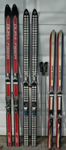 Bermuda Shorts skis compared to regular length skis