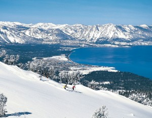 Heavenly Valley overlooking Lake Tahoe