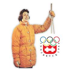 Gerry Down Parka at 1964 Winter Olympics
