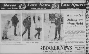 News Coverage of Kennedys at Stowe