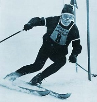 Pepi Stiegler Winning the Slalom at Innsbruck 1964