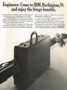 IBM Advertisement from January 1968 SKI Magazine