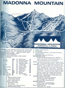Madonna Trail Map 1967