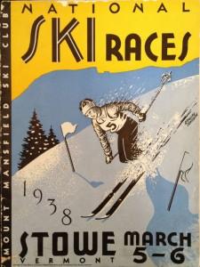 1938 National Ski Championship Poster
