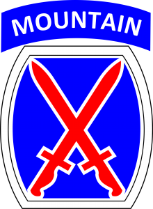 10th Mountain Division Insignia