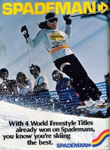 Spademan Freestyle Advertisement