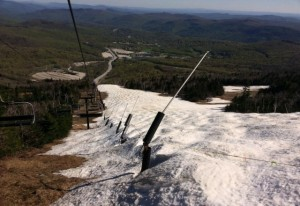 Superstar at Killington in the Spring