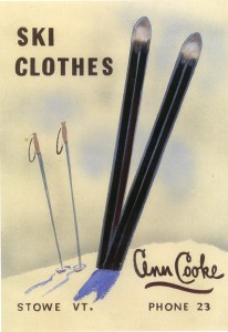 Ann Cooke Ski Clothes