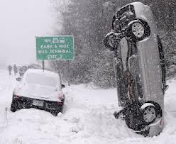 WInter Driving Accident