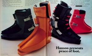 Hanson Rear-Entry Ski Boots