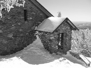 Stone Hut on Mt Mansfield