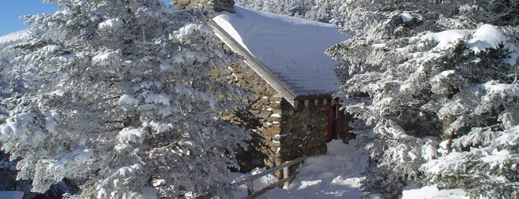 The Stone Hut on Mount Mansfield