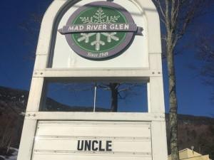 Mad River Glen Sign