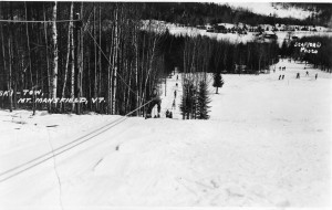 Rope Tow at Toll House Slope