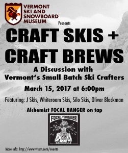Craft Skis and Craft Brews March 15th