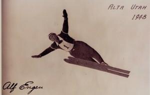 Alf Engen Jumping at Alta