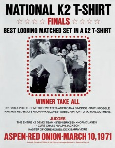 K2 Wet T-Shirt Finals Poster