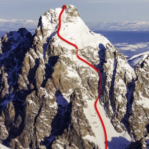Briggs Route on the Grand Teton