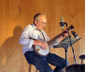 Briggs Playing the Banjo