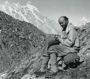 Fritz Wiessner on K2