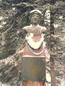 Buddy Werner Statue