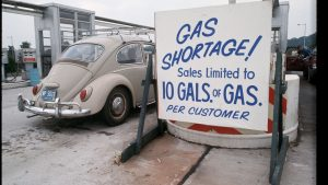 Gas Shortage 1974