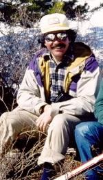 Greg in a Powderhorn