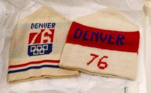 Denver 1976 Olympics Hats
