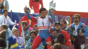 Alberto Tomba at 1988 Olympics