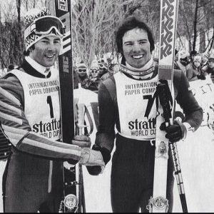 Phil Mahre and Ingemar Stenmark 1978