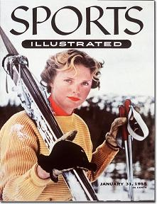 Jill Kinmont on cover of Sports Illustrated