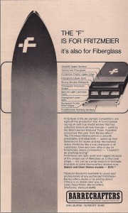 Fritzmeier Ad from SKIING December 1970