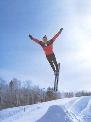 Hermann Goellner at Killington